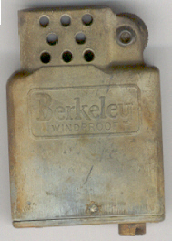 Berkeley Windproof Lighter.