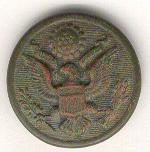 WW I/U.S. military uniform button. 3/9/2002.